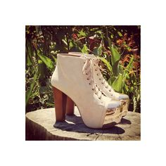 So obsessed with these...Jeffrey Campbell 'Lita-Toe Cap', nude