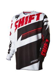 2016 Shift Assault Jersey (XL, Black/White)