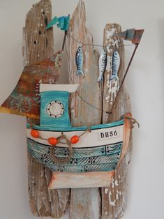 Boat on Driftwood