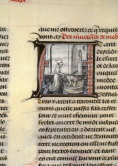 Medea rejuvinates Jason, Ovid's Metamorphoses (BNF Fr. 137, fol. 91), second half of the 15th century