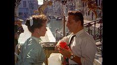 Katharine Hepburn and Rossano Brazzi