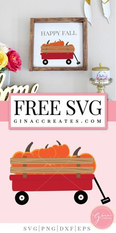 red wagon happy fall free svg Free Svg Cut Files, Svg Files For Cricut, Sign Fonts, Little Red Wagon, Free Stencils, Stencil Templates, Silhouette Cameo Projects, Welding Projects, Craft Projects