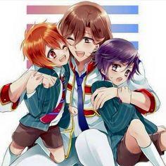 Reiji and Kid! Otoya and Tokiya