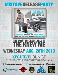 Make sure you check out #TheKnewMe is Hours Away From Dropping Make Sure You get your Copy at the album release party