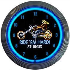 Fleur De Lis Living Bicycle Table Clock | Wayfair Motorcycle Clock, Bicycle Clock, Neon Tube Lights, Wall Clock Glass, Wall Clocks, Clock Numbers, Black Clocks, Neon Clock, Wall Outlets