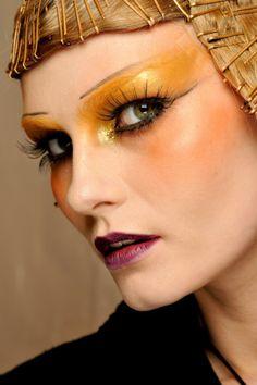 Dramatic Eye Makeup | Dramatic Make up by Christian Dior Fashion Show 5 Amazing Dramatic ...