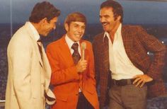 On August 25, 1978, Andy Hardy, Vic Prinzi and Burt Reynolds broadcast a Dolphins-Bucs preseason NFL game on WTVT 13.