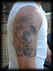 Gladiator Tattoo Single View  Tattoos
