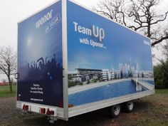 Roadshow Trailer hire for Brand Awareness & Public Consultations Small Company, How To Introduce Yourself, February, Public, The Unit