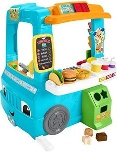 Fisher-Price Food Truck and Shop to Play and Ler .- Fisher-Price Imbisswagen und Laden zum Spielen und Lernen … – T O Y S … Fisher-Price Food Truck and Shop to Play and Learn … – T O Y S – # - Food Trucks, Kids Toys For Boys, Cool Kids Toys, Girls Toys, Cool Toddler Toys, Best Toys For Boys, Toys For Babies, Outside Toys For Toddlers, Toys For Little Kids