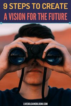How do you create a vision for the future? Read this post to discover the fundamental steps in creating an effective vision for your future self. Mission Statement Examples, Vision Statement, Self Esteem Activities, Building Self Esteem, List Of Questions, Creating A Vision Board, Human Connection, Spiritual Health