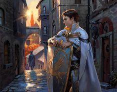 Fantasy Male, Fantasy Warrior, Fantasy World, Dark Fantasy, Character Inspiration, Character Art, Mtg Art, Image Painting, Fantasy Setting