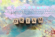 Dream Collage MIxedMedia Print by BethNadlerArt on Etsy, $15.00