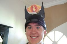 Image result for eye of sauron costume