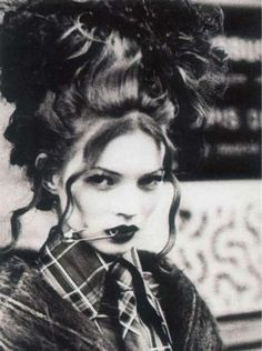 the pulchritude of Kate Moss  via poisonous pulchritude