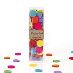 Rainbow Felt Confetti