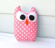 Cute owl plush toy or softie toy. A great present for a newborn, baby shower, as a room decoration or just to spoil your little one.    Already