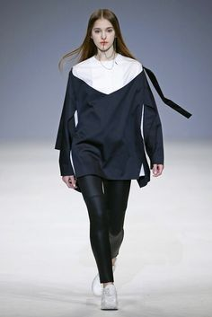 Elena Burenina, Look #1