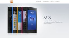 Xiaomi Mi3 -  cheap and cheerful phones.  The sad thing is, this has a better camera than the iPhone 5!!
