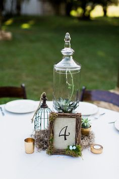 Awesome Wedding Table Number Ideas You'll Want To Copy ~ we ❤ this! moncheribridals.com