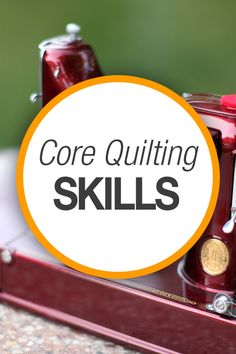 Dive into these skill-building quilting tutorials and find out how to quilt efficiently on your own. http://www.nationalquilterscircle.com/videos/core-skills/?utm_source=pinterest&utm_medium=organic&utm_campaign=A219  #LetsQuilt