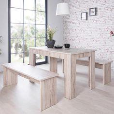 Fancy Set van tafel met zitbanken