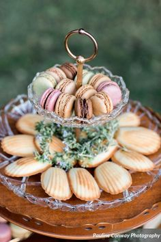 French Macarons & Madeline's - Perfect sweets for tea time.