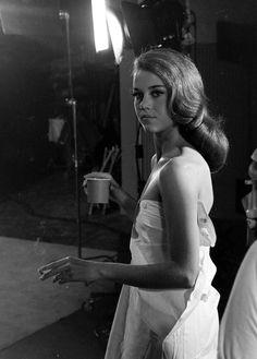 Jane Fonda, 1961, photo by Gjon Mili ...