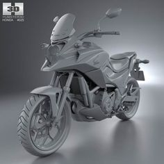 Honda Nc700x 2010 In Photography Action