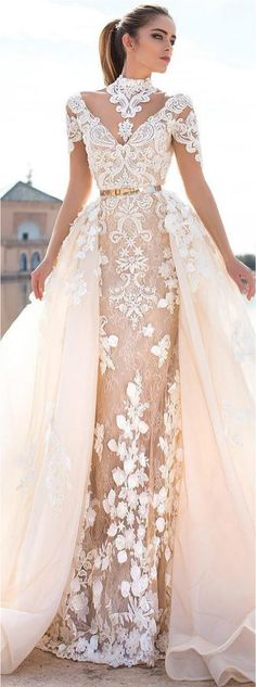 Elegant wedding dress is just as important and special as the big wedding day itself.