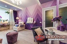 Фиолетовый цвет в интерьере. ФИОЛЕТОВЫЙ ЦВЕТ: РАЗНООБРАЗИЕ НАСТРОЕНИЙ В ИНТЕРЬЕРЕ  Фиолетовый тон во всем многообразии его оттенков — это удачное решение для любого жилого помещения. Он применяется в большинстве стилей и широко распространен в декорировании интерьеров. Все элементы помещения, от... http://energy-systems.ru/main-articles/architektura-i-dizain/7845-fioletovyy-cvet-v-interere  #Архитектура_и_дизайн #Фиолетовый_цвет_в_интерьере