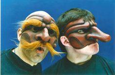 commedia dell arte masks | METAPHYSIQUE - Workshops & Residencies