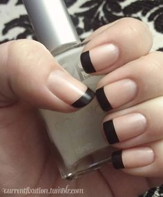 A French-style manicure suits absolutely any occasion or style and it never goes out of fashion. Check out this list of French-style nail art ideas th