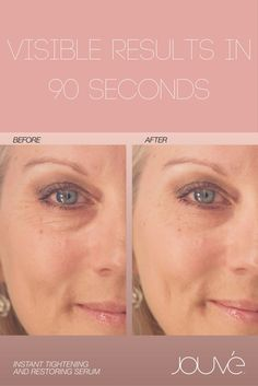 Say goodbye to puffy eyes, fine lines and scars. Instant results that last for eight hours and actually improve you skin over time. Turn back the clock and help control the ageing process.