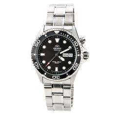 Orient Black Ray Automatic Dive Watch CEM65008B