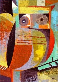 owl from the 'Owl Series' by Richard Faust