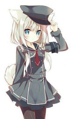 Anime l Game l Japan l Manga l Vocaloid Anime Neko, Lolis Neko, Chica Anime Manga, Anime Furry, Anime Wolf Girl, Anime Girl Cute, Beautiful Anime Girl, Anime Girls, Cute Neko Girl