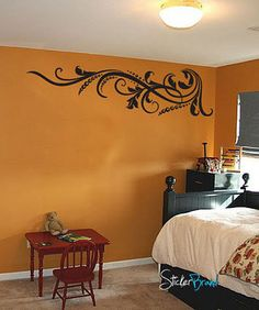Vinyl Wall Decal Sticker Swirl Dots L Pattern #711
