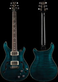PRS Hollowbody II Abalone 10 Top (406)