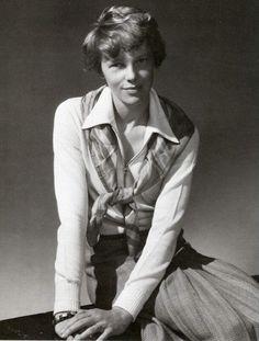Amelia Earhart by Edward Steichen, 1931