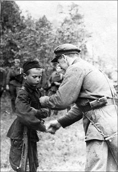 młodzi żołnierze / Юные солдаты Второй мировой
