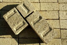 Green bricks are environmentally friendly alternative to concrete and high-fired clay bricks.
