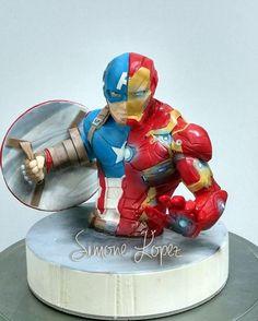 Topper Captain America Civil War by simonelopezartist