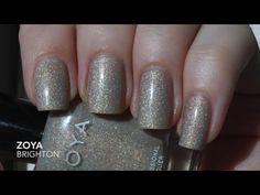 Zoya Brighton (swatch by Jodi's Polish on YT)