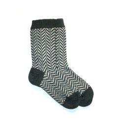 British wool handmade socks - Bronwen Campbell-Golding