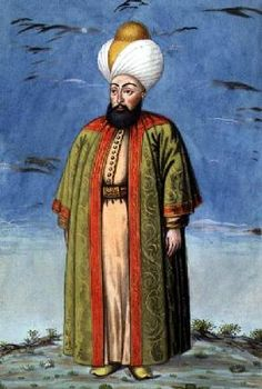 Ecole anglaise de peinture - Mahomet (Mehmed) I (1387-1421), Sultan 1413-21, from 'A Series of Portraits of the Emperors of Turke