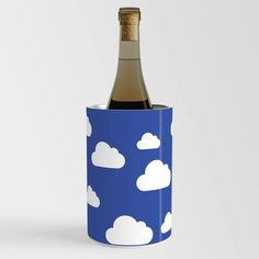 Rainbow in the Clouds Wine Chiller Wine Chillers, Rainbow, Clouds, Sky, Bottle, Crafts, Rain Bow, Heaven, Rainbows