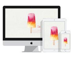 Jetzt kostenlos runterladen: Wallpaper für Juli! Freebie via sodpaop-design.de