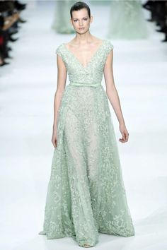 Mint Dress from Elie Saab 2012-2013