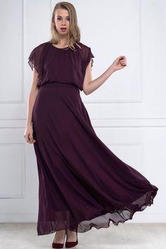 İRONİ BOHEM ŞİFON UZUN MÜRDÜM ELBİSE ||                         http://www.1001stil.com/urun/3150111/ironi-bohem-sifon-uzun-murdum-elbise.html?utm_campaign=İroni&utm_source=pinterest